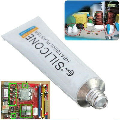 New Thermal Conductive Silicone Adhesive Glue Tube Heatsink Plaster 10g HC-910