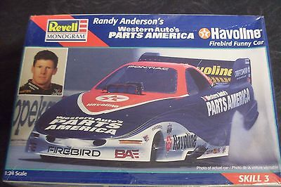 Western Auto's Parts America Havoline Firebird Funny Car