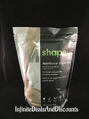 ViSalus Vi-Shape Sweet Cream Nutritional Shake Mix (24 Servings) EXP 06/2020