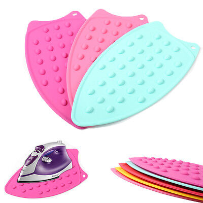 Silicone Silicon Iron Rest Pad - Holder Ironing Board Protector Underlay Cover