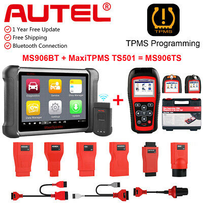 Autel MaxiSys MS906 BT OBD2 Bluetooth Auto Diagnostic Tool Scanner TPMS TS501