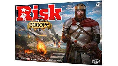 Hasbro Risk Europe Board Game Strategy HASB7409 Brand New