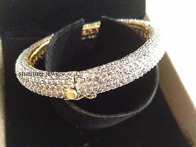 New Victorian 26.30ct Rose Cut Diamond Silver Party wear Bracelets,Free Shipping