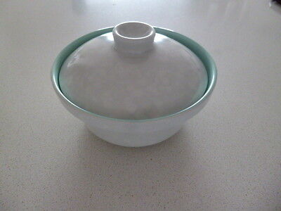 Poole Pottery Small Serving Dish Seagull/Ice Green C57 with Lid