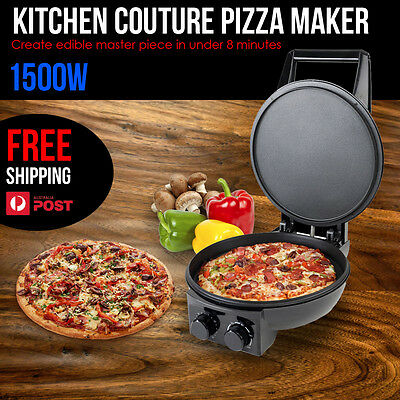 1500W Pizza Maker Oven Toaster Create Amazing Tasting Pizza in Under 8 Minutes