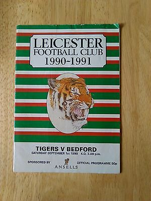 Leicester Tigers Homes 1990-1991