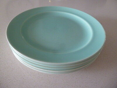 Poole Pottery Ice Green Side Plates 19cm