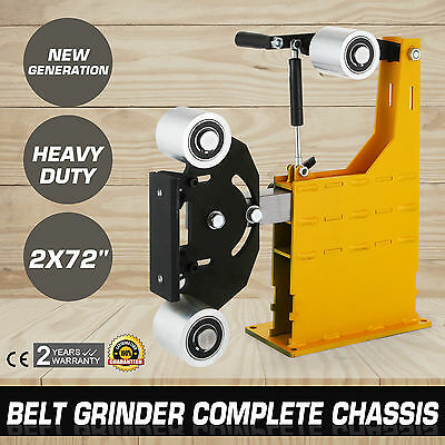 """2x72"""" Belt Grinder Knife Making Complete Chassis Tools Industrial Aluminum"""
