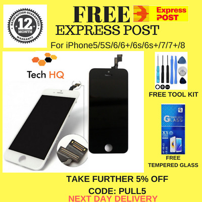 For iPhone 6/6s/6s Plus LCD Touch Screen Replacement Digitizer Assembly 3D Glass