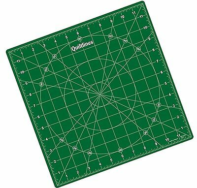 Self Healing Rotating Cutting Mat 12 x 12 inch 30 x 30cm by Quiltlines