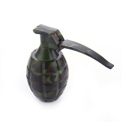3-layer Metal Alloy Grenade Herb Spice Smoke Grinder Cigarette Crusher