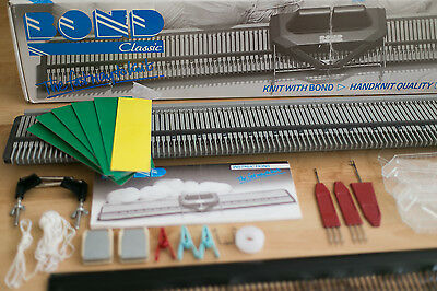 Bond knitting machine. Chunky. With tools and accessories.