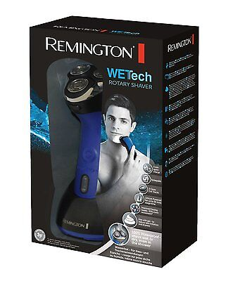 Remington AQ7 Wet-Tech Wet & Dry Dual Track Rotary Shaver - 100% Waterproof