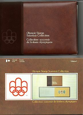 Canada 1976 Olympic Stamp Souvenir Collection Mnh  Volume 1