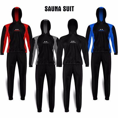 DBXGear MMA Boxing Sauna Sweat Track Suit Elasticated Rubber Material