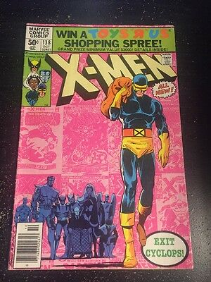 Uncanny X-men#138 Awesome Condition 7.0(1980) Byrne Art!!
