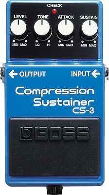 Boss CS3 Compression / Sustainer Electric Guitar Effect Pedal - Brand New!