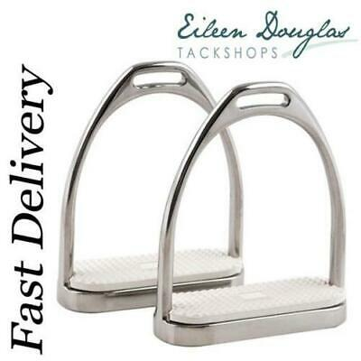 Irons Fillis Dressage Stirrups With White Treads Rrp £30