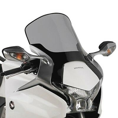 Motorcycle Spoiler plate tinted Honda VFR 1200 F Yr 10 to 16 Givi Windshield NEW