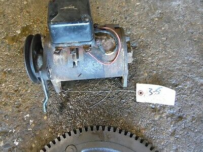 John Deere A tractor generator 12 volt w/ bracket & pulley Tag #35