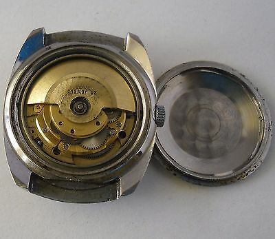 FHF 908 Automatic Movement Working Ciny Day-Date FHF 908 Movimiento Funciona