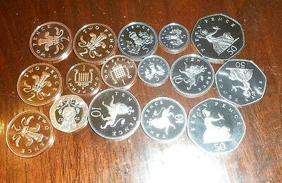 Nice Lot Of Proof Mixed Great Britain Coin