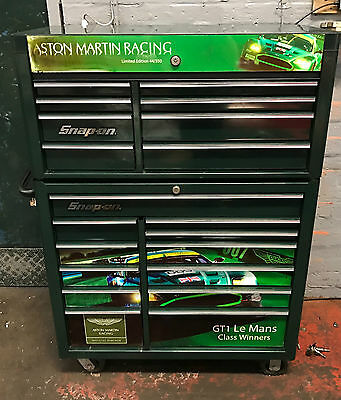 Snap On Tools Aston Martin Roll Cab Tool Box stack 40 inch