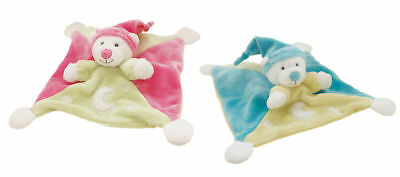 IDIS SARL BABY SAFE BEAR DOUDOU SECURITY COMFORTER BLANKET BABY BOY GIFT *New*