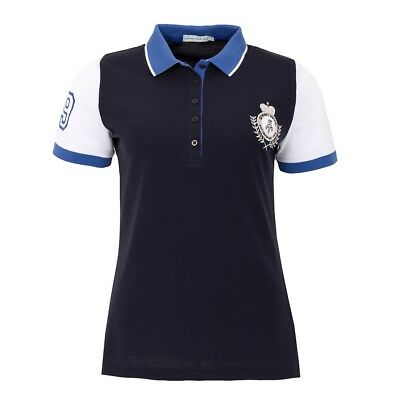 New Green Lamb Ladies Cilla Crested Short Sleeve Polo Shirt Radical Cotton Golf