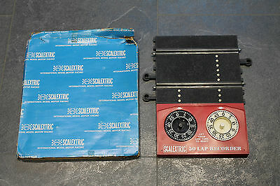Vintage Boxed Scalextric Classic Lap Recorder Counter Good Condition