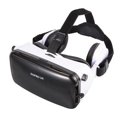 VR Virtual Reality Headset 3D Video Glasses   Headphone para iPhone 6 Plus AC502