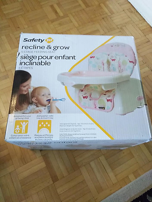 Safety 1st Recline & grow: 5 stage booster seat / Toddler feeding chair