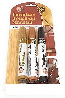 New Furniture Touch Up Pen Markers to repair Laminate Wood Floor Scratches