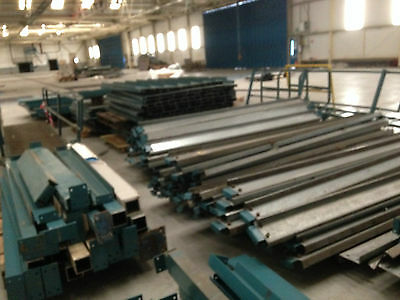 Massive 14m x 14m Mezzanine with steel floor 2 staircases and ladder NO VAT