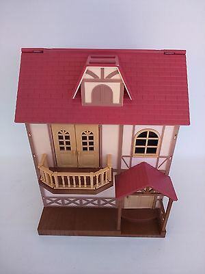 Sylvanian Families Babblebrook Grange house along with small bundle of furniture