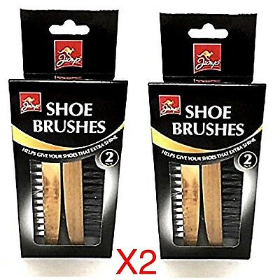 Shoe Boot Polish Brushes Set Shine Boot Non Scratch JUMP JMP1010A Leather