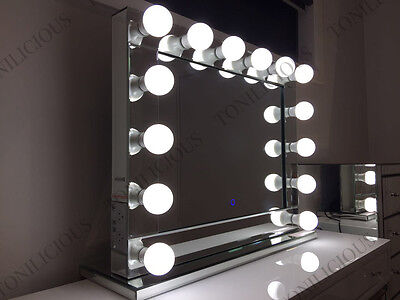 Hollywood Makeup Mirror with DIMMABLE LED lights, Vanity Make Up Beauty Mirror
