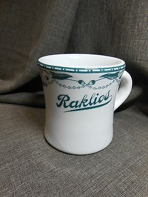 New Orleans Estate RAKLIOS Mobster Restaurant Chicago 30's COFFEE MUG china cup