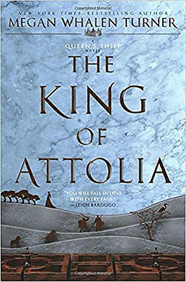 The King Of Attolia Queen's Thief Book 3_Megan Whalen Turner_New 2017 Pb_Free Sh