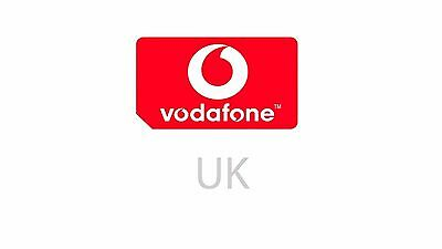 Vodafone UK Sim Microsim Nano 4G Card + Data. NEW Activated. Great Roaming Rates