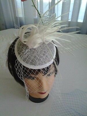 Lot of 5 Fascinator Hat hair  veil, cocktail party, church, wedding, headband