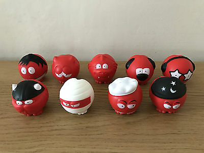 Red Nose Day 2017 - Comic Relief Set of 9 Red Noses - BRAND NEW Bundle Kit