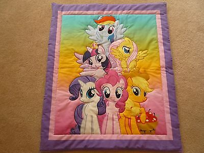 New Handmade Baby Quilt (Blanket)  - My Little Pony