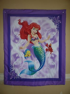 New Handmade Baby Quilt (Blanket)  - Mermaid ~~ Ariel