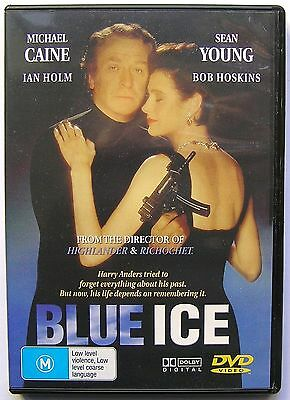 """Blue Ice"" Michael Caine & Sean Young Action Thriller RARE Movie"