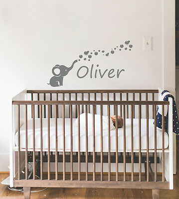Babys room nursery wall decal stickers boys and girls baby room vinyl wall art