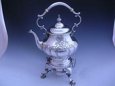 Sterling GORHAM Hot Water Kettle on Stand CHANTILLY COUNTESS no.1006 ~no mono