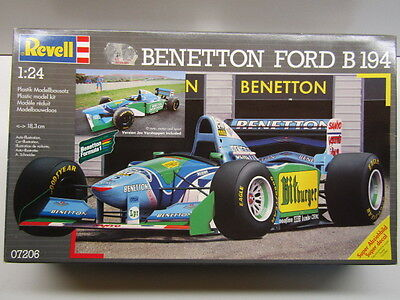 "Revell 1:24 Scale Benetton Ford B194 ""Bitburger"" Model Kit - New - Schumacher"