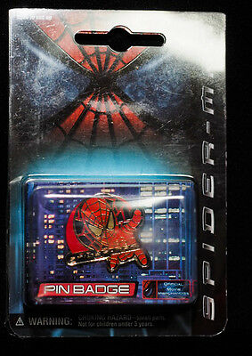 Marvel Spider Man Face 2002 Official Limited Pin Badge Exclusive Japan