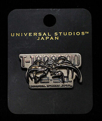 Terminator 2 3D Universal Studios Japan Official Limited Pin Badge Exclusive